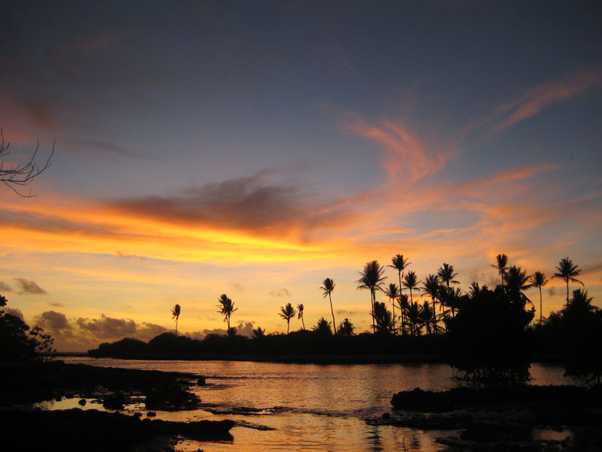 Image result for kiribati sunrise